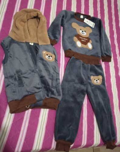 Infantil Baby Boys Suits Newborn Clothing Set Kids Letter Tracksuit Tops Pants Children Spring Boys Outfits Girls sets photo review