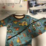 Children Pyjamas Winter Kids Clothing Sets Warm Fleece Pajamas For Boys Thicken Dinosaur Girls Sleepwear Baby Thermal Underwear photo review