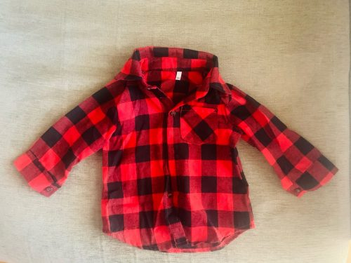 Newborn Unisex Clothes Autumn Top Baby Boy Shirt CHild Long Sleeve Plaid Shirts Kid Girl Cotton Blouse Baby Girl Clothes photo review