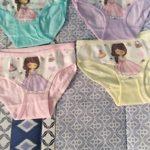 4pcs/Lot Cartoon Panties Cotton Short Pants Girls' Underwear Suit 2-10Years photo review