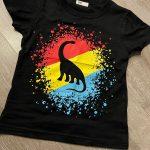 Cartoon Animals T-Shirts Kids Boys Girls Children Cotton Short Sleeves Summer Clothing Excavator Shark Print Tee Toddler Shirts photo review