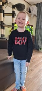 NEW 2020 Autumn Toddler Baby Boys Long Sleeve Sweatshirts Round Neck Mama's Boy Letter Printed Casual Pullover Tops Hoodies 0-3Y photo review