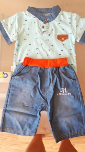 Summer Baby Boys Clothes Sets Toddler Kids T-Shirt Shorts 2pcs Baby Children Tracksuit Boys Suit For Kid Clothing 1 2 3 4 Years photo review