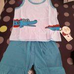 Children Clothing Sets Baby Boy Summer Clothes Infant Girls Vest pants Set Toddler Cotton T Shirts Tee Tops Kids Sport Suits photo review