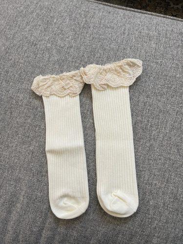 New Baby Girls socks Long Socks Kids Knee Lengths Soft Cotton baby Socks Kids 0-4 Years Knee High Socks photo review