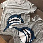 Boys & Girls Cartoon T-shirts Kids Dinosaur Print T Shirt For Boys Children Summer Short Sleeve T-shirt Cotton Tops Clothing photo review