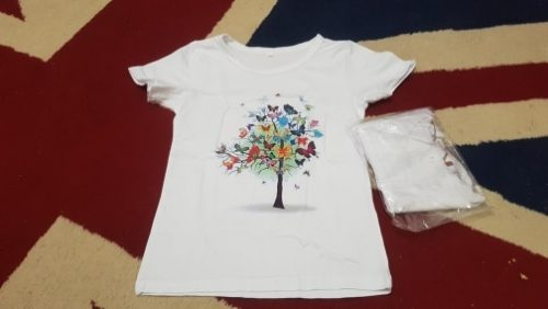 Kids Girl T Shirt Summer Baby Magic Tree Tops Toddler Tees Clothes Children Clothing Cartoon T-shirts Short Sleeve Casual Wear photo review