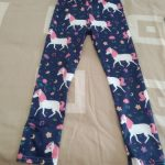 Girls Leggings for Outdoor Travel Clothes Girls Pants Student Casual Wear Customizable Stylish Computer Printing For 4-13 Years photo review
