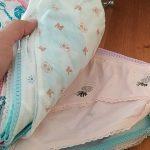 24pcs/Lot Cotton Girls Briefs Children's Underwear Triangle Panties Kids Underpants 2-12Years photo review