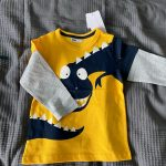 Boys T Shirt Tops Long-Sleeve Toddler Baby Girls Kids Children Cotton Fashion Autumn Spring Print Car for 2 3 4 5 6 7 8 Years photo review