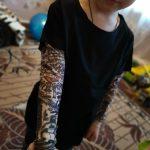 Novelty Tattoo Long Sleeve Children T-Shirts Cotton Boys T Shirt Kids TShirt Autumn Kids Girls Tops 2-7Years Children Clothes photo review