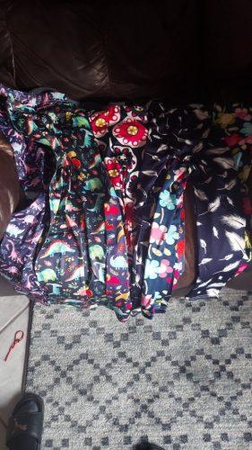 ZukoCert Soft Girls Leggings Baby Girl Clothes Pencil Pants Cotton Kids Trousers Print Flower Skinny Children Leggings For Girls photo review